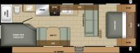 2019 Mossy Oak 26BH Floor Plan