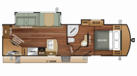 2019 Telluride 250RES Floor Plan