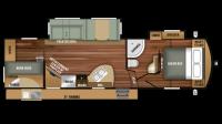 2018 Telluride 296BHS Floor Plan