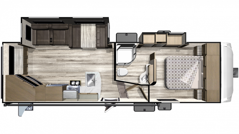 2019 Telluride 251RES Floor Plan Img