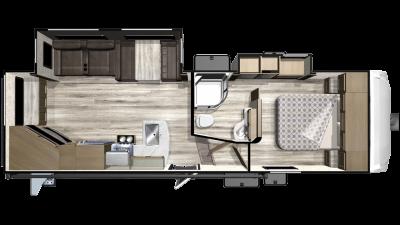 2019 Telluride 251RES Floor Plan Img