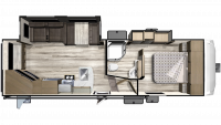 2019 Telluride 251RES Floor Plan