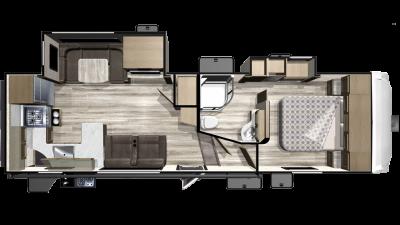 2019 Telluride 289RKS Floor Plan Img