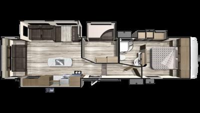 2019 Telluride 338MBH Floor Plan Img