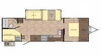 2018 Sunset Trail Grand Reserve 28BH Floor Plan