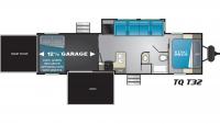 2019 Torque XLT T32 Floor Plan