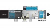 2019 Torque XLT T322 Floor Plan