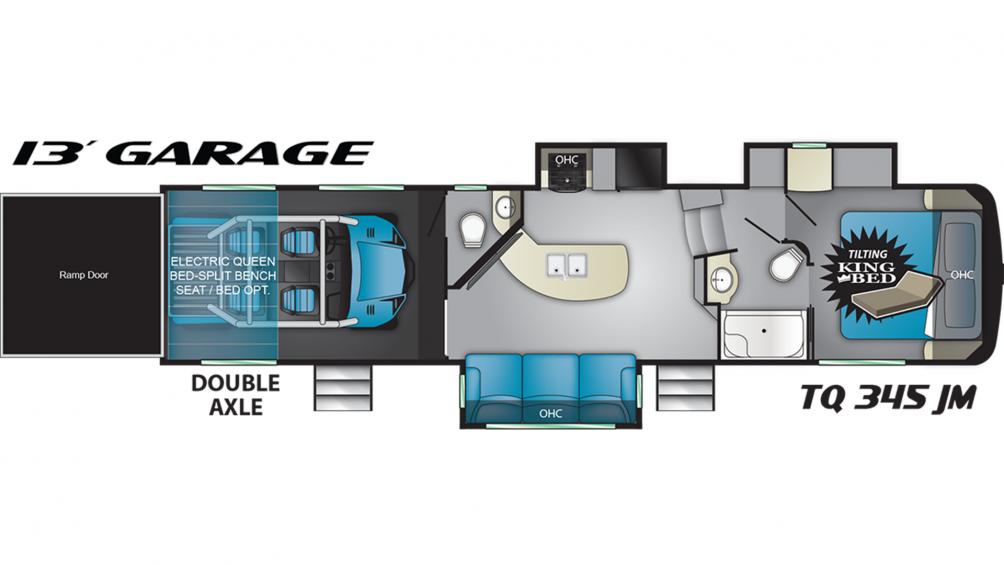 2019 Torque TQ345 Floor Plan Img