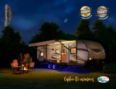 2017 Forest River Wildwood RV Brand Brochure Cover