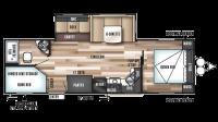 2018 Wildwood 27DBK Floor Plan