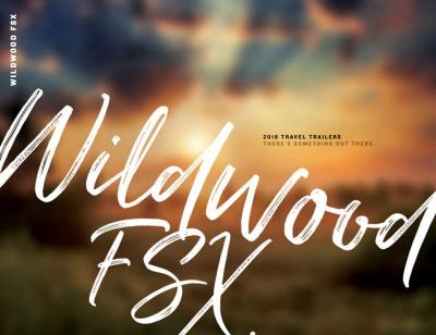 2018 Wildwood FSX Brochure Cover