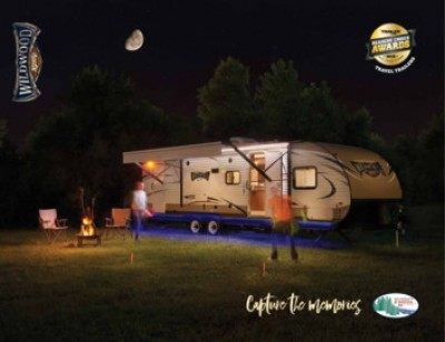 2017 Forest River Wildwood X-Lite RV Brand Brochure Cover