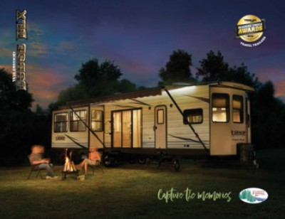 2017 Forest River Wildwood Lodge RV Brand Brochure Cover