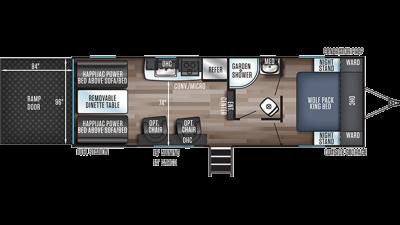 Wolf Pack 24GOLD14 Floor Plan - 2020