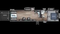2020 Wolf Pack 305PACK22 Floor Plan