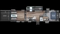 2020 Wolf Pack 315PACK12 Floor Plan