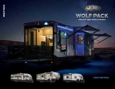 2017 Forest River Wolf Pack RV Brand Brochure Cover