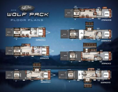 2019 Forest River Wolf Pack RV Brochure Cover