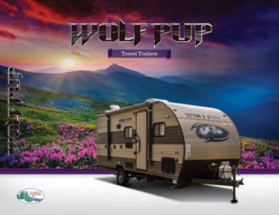 2017 Forest River Wolf Pup RV Brand Brochure Cover