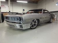 1971 Plymouth BARRACUDA Build   All Speed Customs