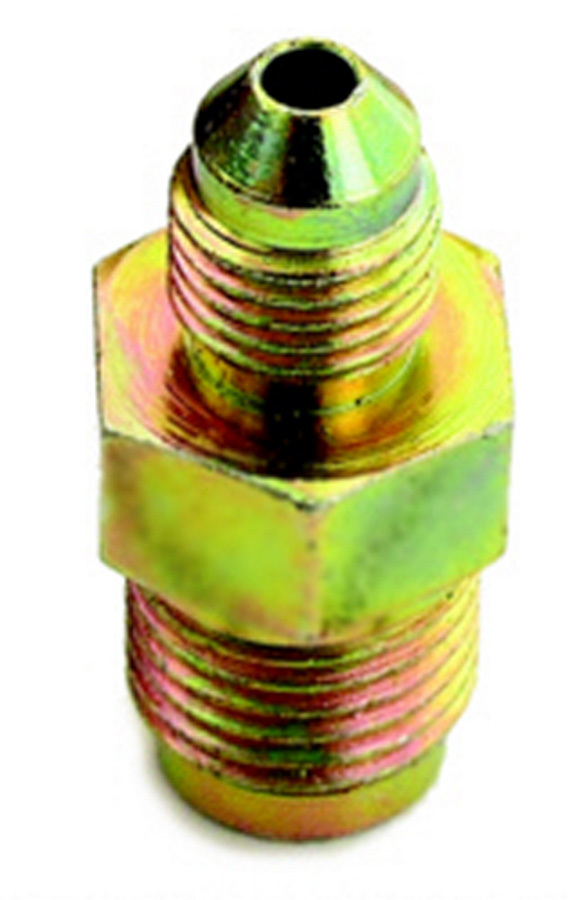 A-1 Products 7/16-24 to #3 Stl Invert Male Flare Adapter