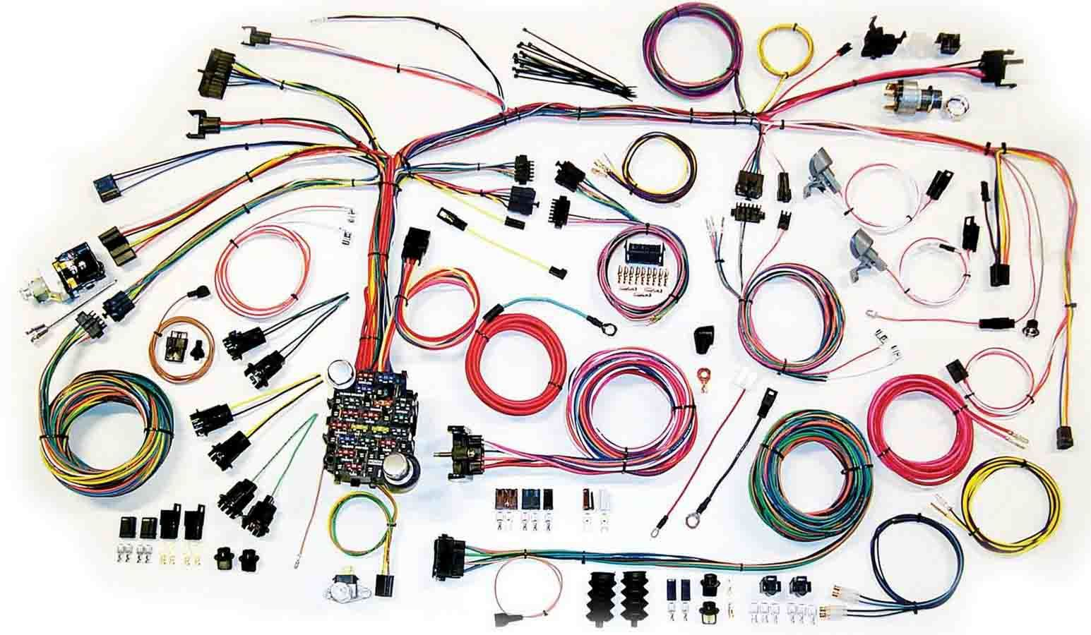 American Autowire 67-68 Camaro Wire Harnes System