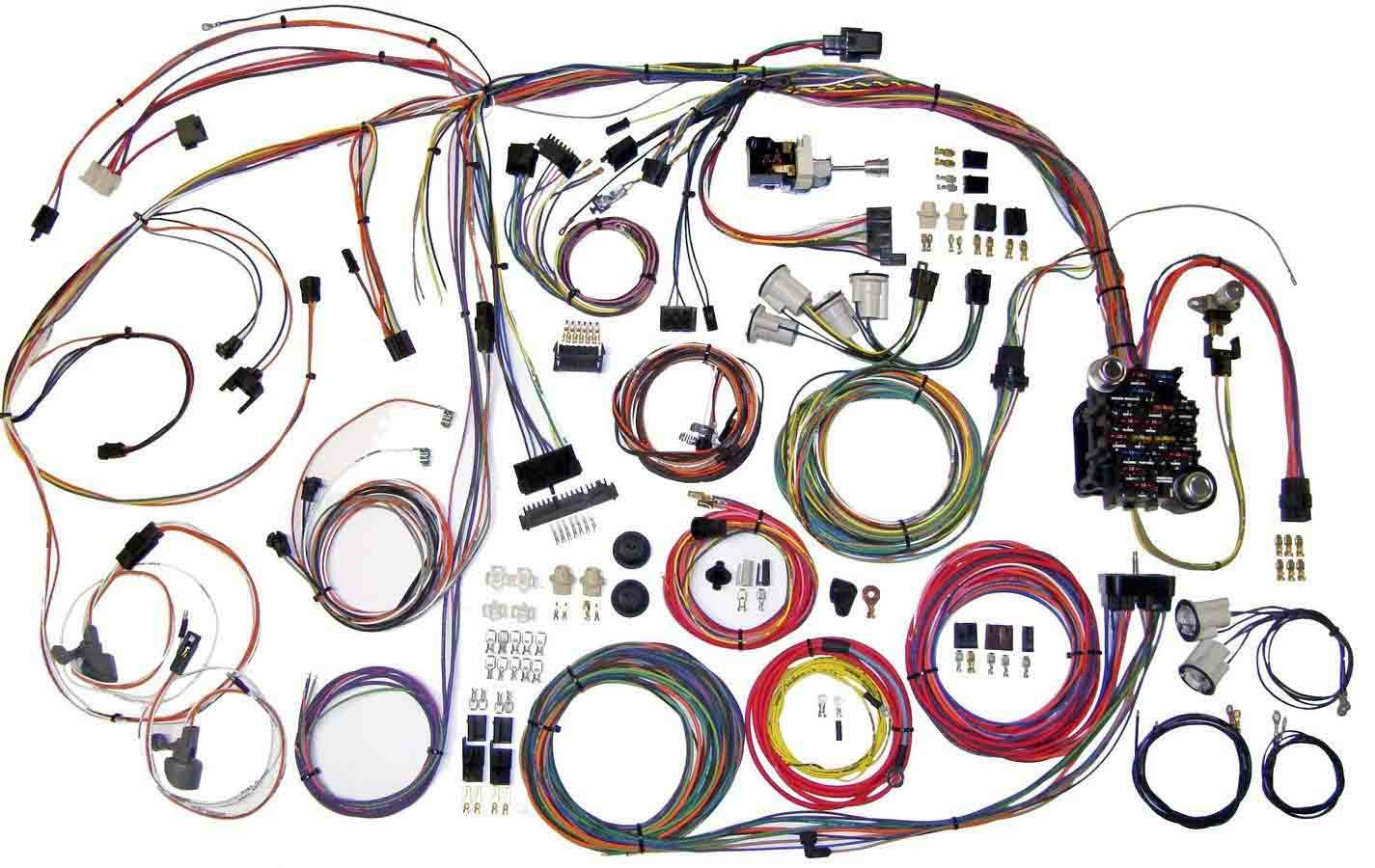 American Autowire 70-72 Chevelle Wiring Harness