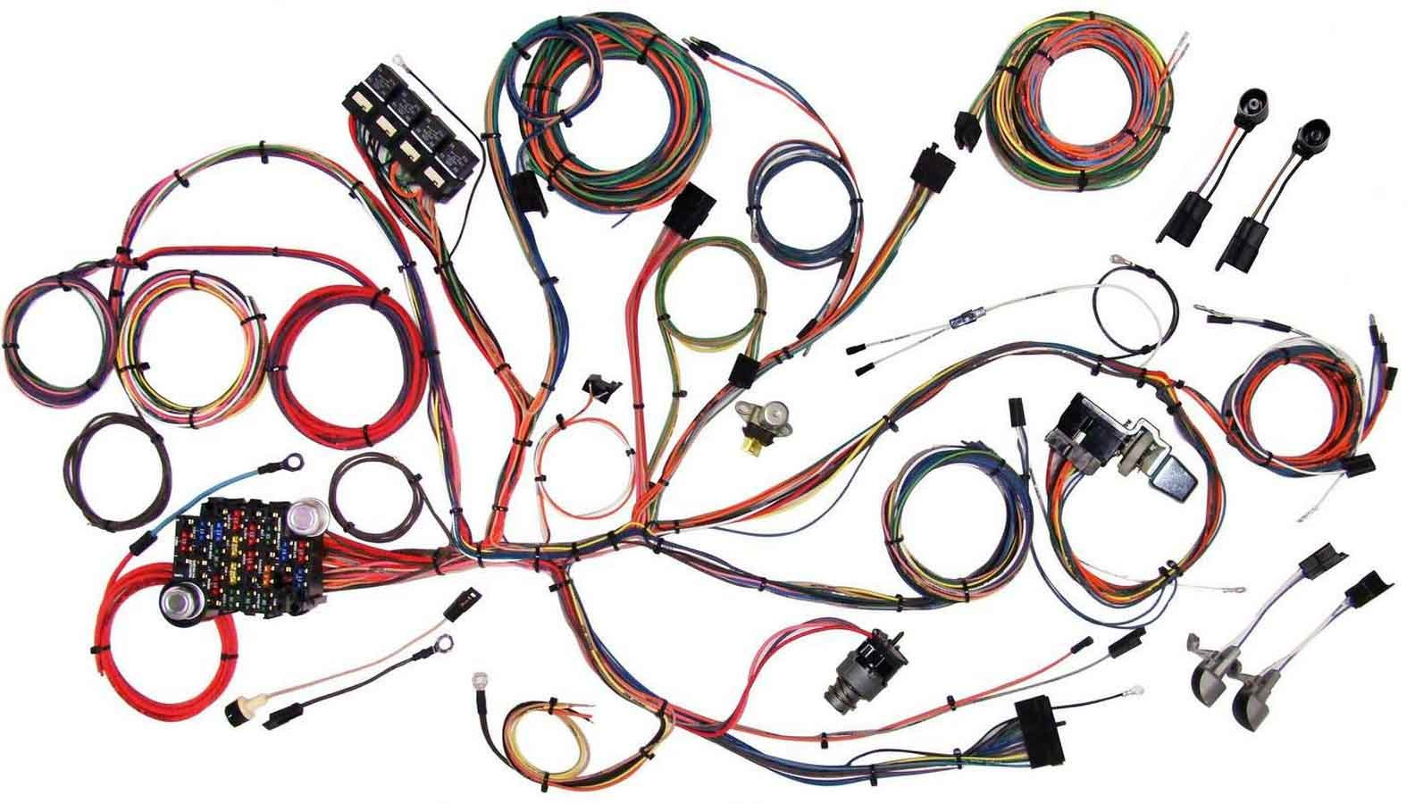 American Autowire 64-66 Mustang Wiring Harness System