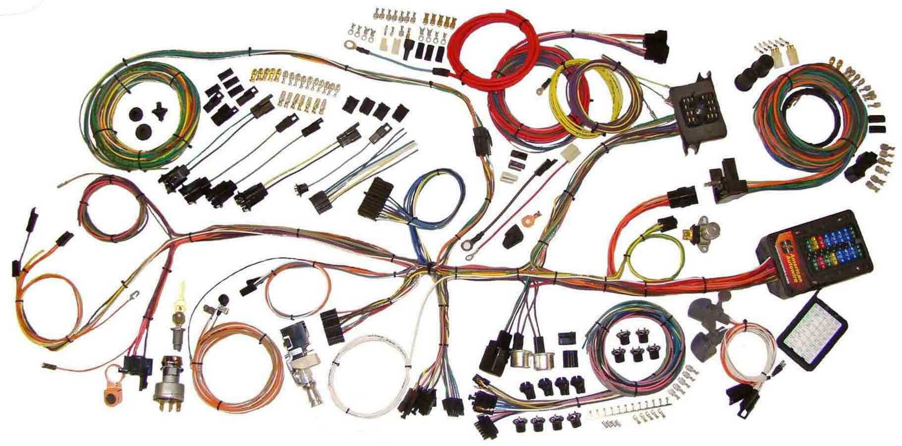 American Autowire 62-67 Nova Wiring Hrness System