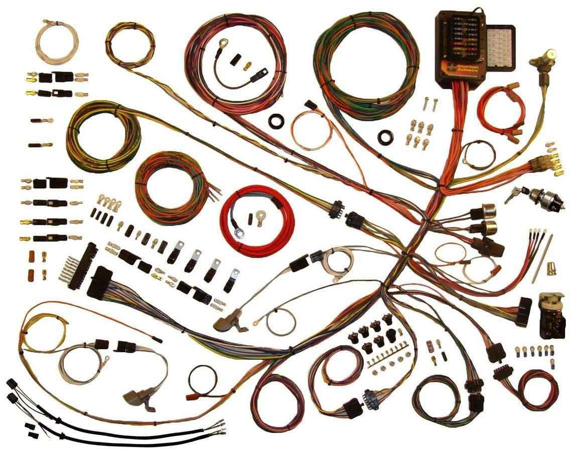 American Autowire 53-56 Ford P/U Wiring Harness
