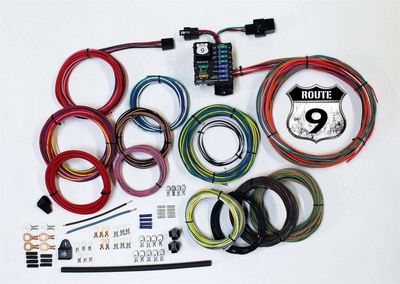 American Autowire Route 9 Universal Wiring Kit