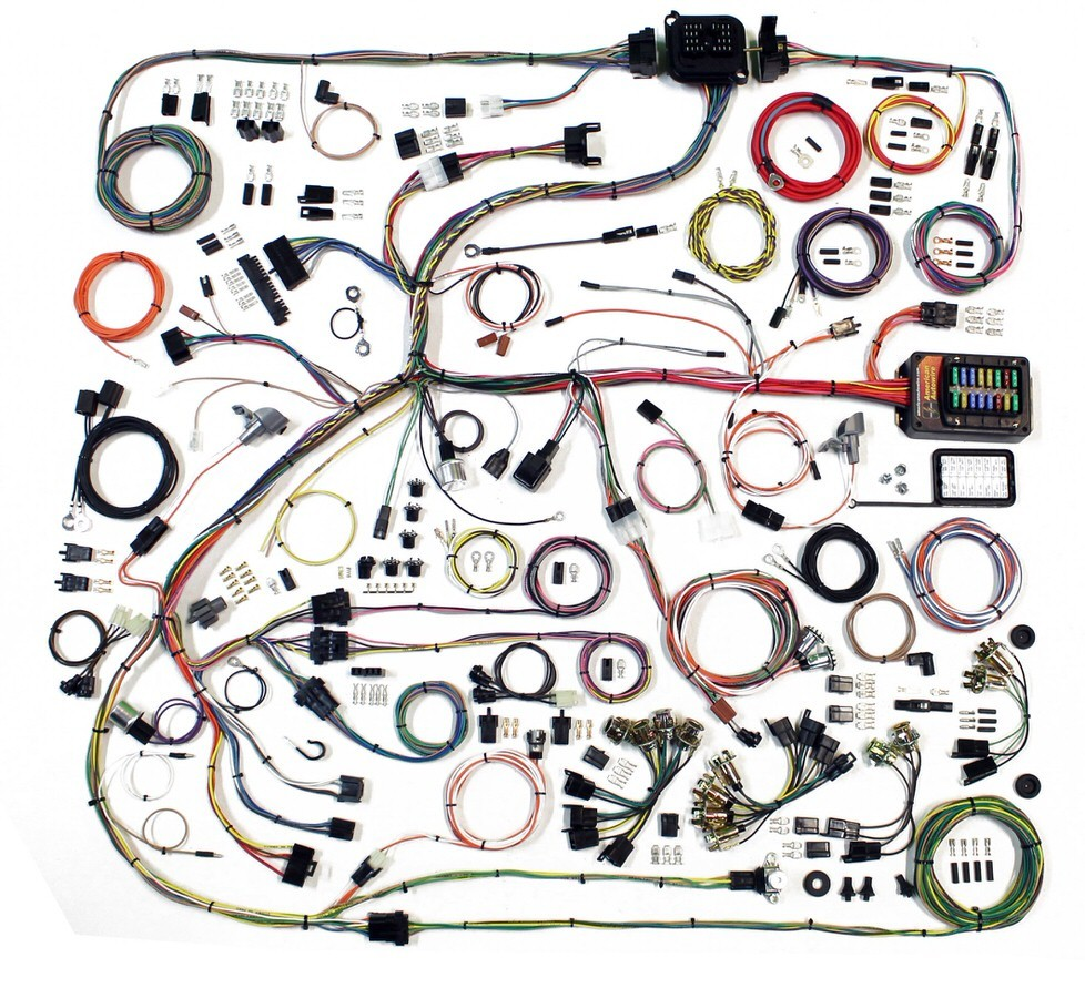 American Autowire 68-70 Mopar B-Body Wiring Harness