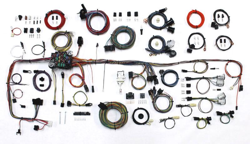 American Autowire 83-87 GM P/U Wiring Harness