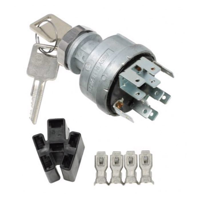 American Autowire HD Blade Type Ignition Switch w/Terminals