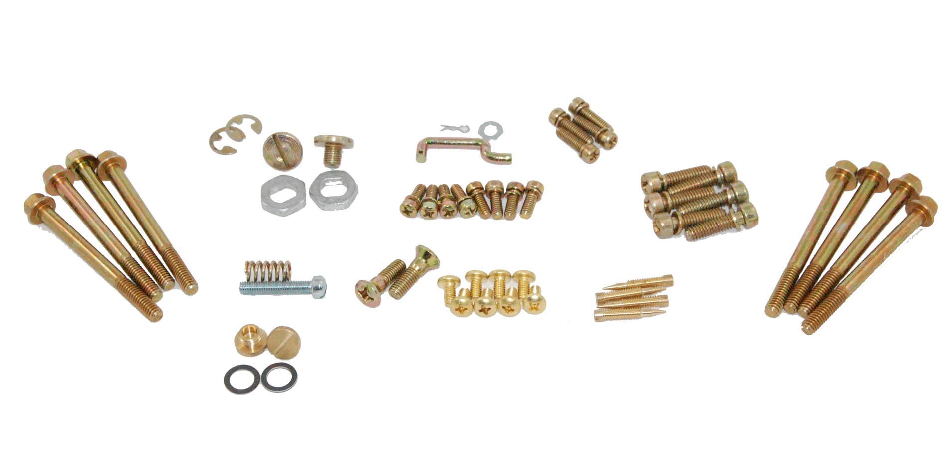 Advanced Engine Design Hardware Kit 4150 Double Pumper Carb