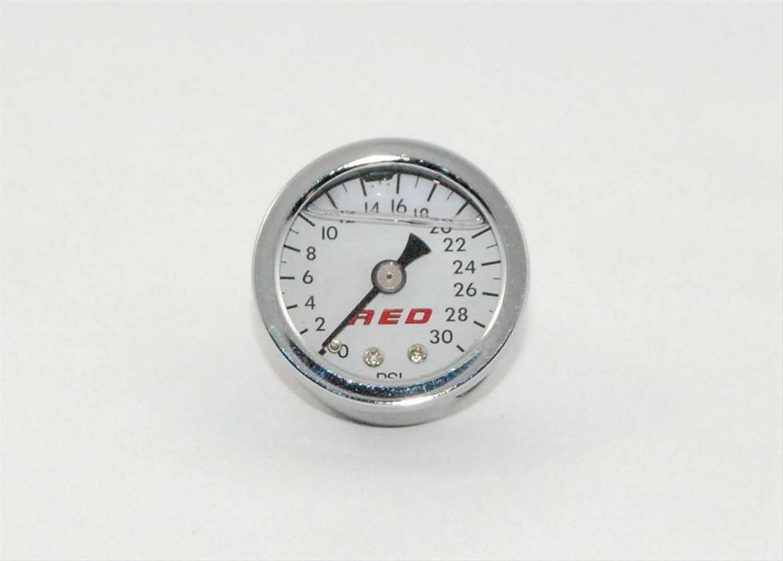Advanced Engine Design 1-1/2 Fuel Press. Gauge 0-30psi Liquid Filled
