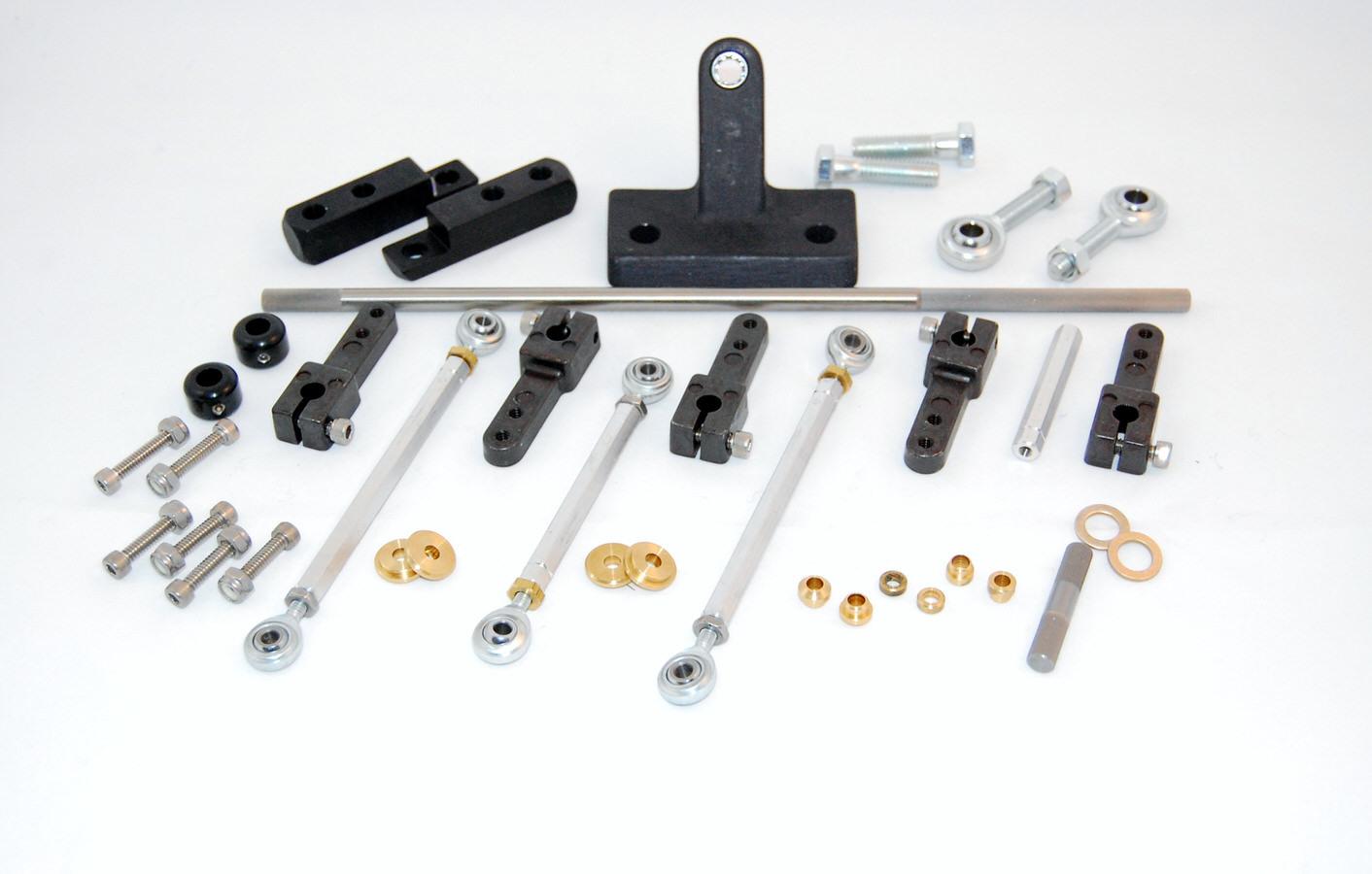 Advanced Engine Design Pro Tunnel Ram Linkage Kit - SBC