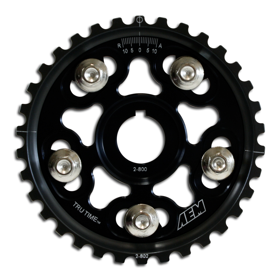 Aem Adjustable Cam Gear Black