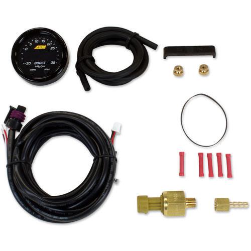 Aem X-Series Boost Pressure Gauge -30-60psi