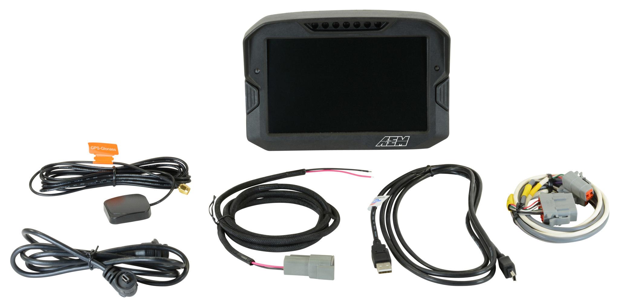 Aem Digital Dash Display  CD -7LG logging  GPS enable