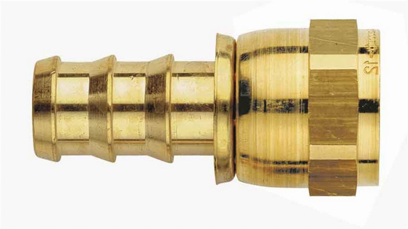 Aeroquip #6 Brass 37d Swivel