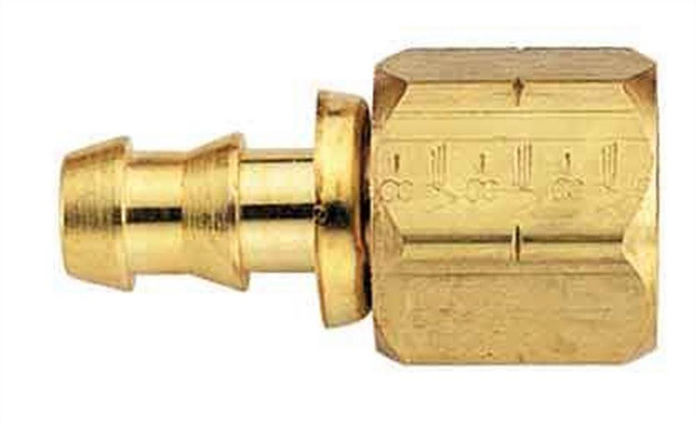 Aeroquip Brass Fitting -6an Socketless