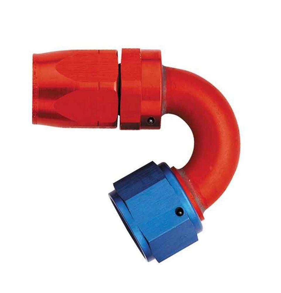 Aeroquip Swivel #16 150 Deg Elbow Hose End - Bulk