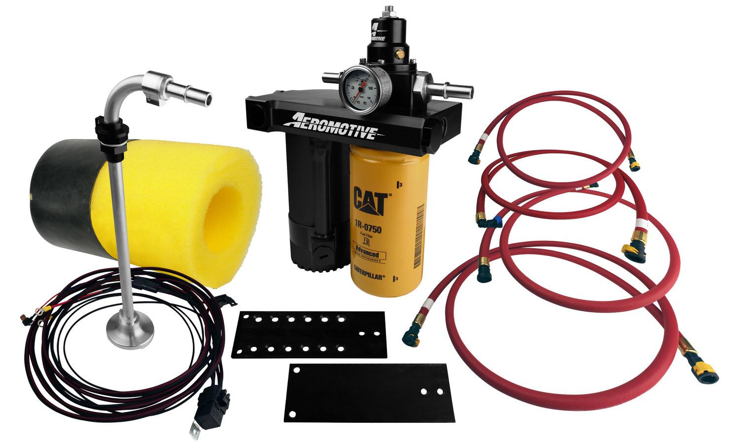 Aeromotive Diesel Fuel Pump System Kit Ford 6.0L 03-07