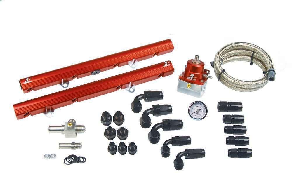 Aeromotive Fuel Rail Kit - 86-95 Ford 5.0L Mustangs