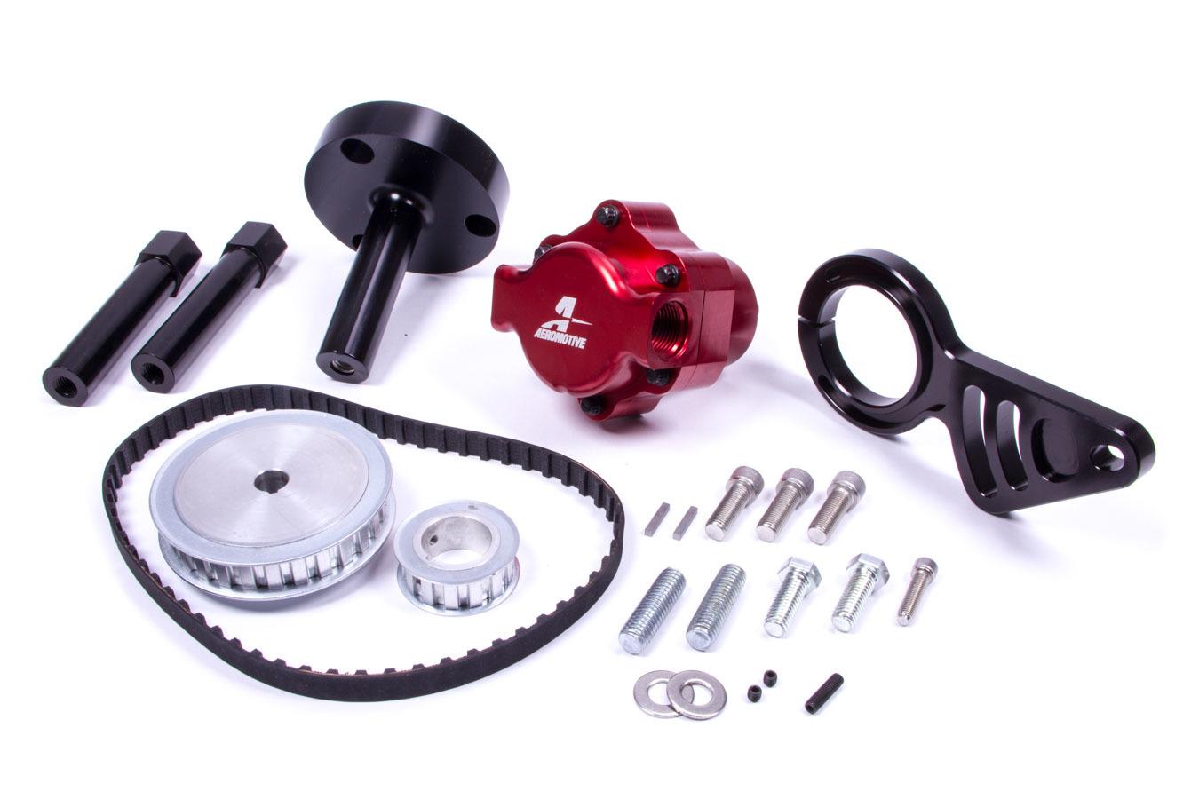 Aeromotive BBC Belt Pump Kit - Lower Left