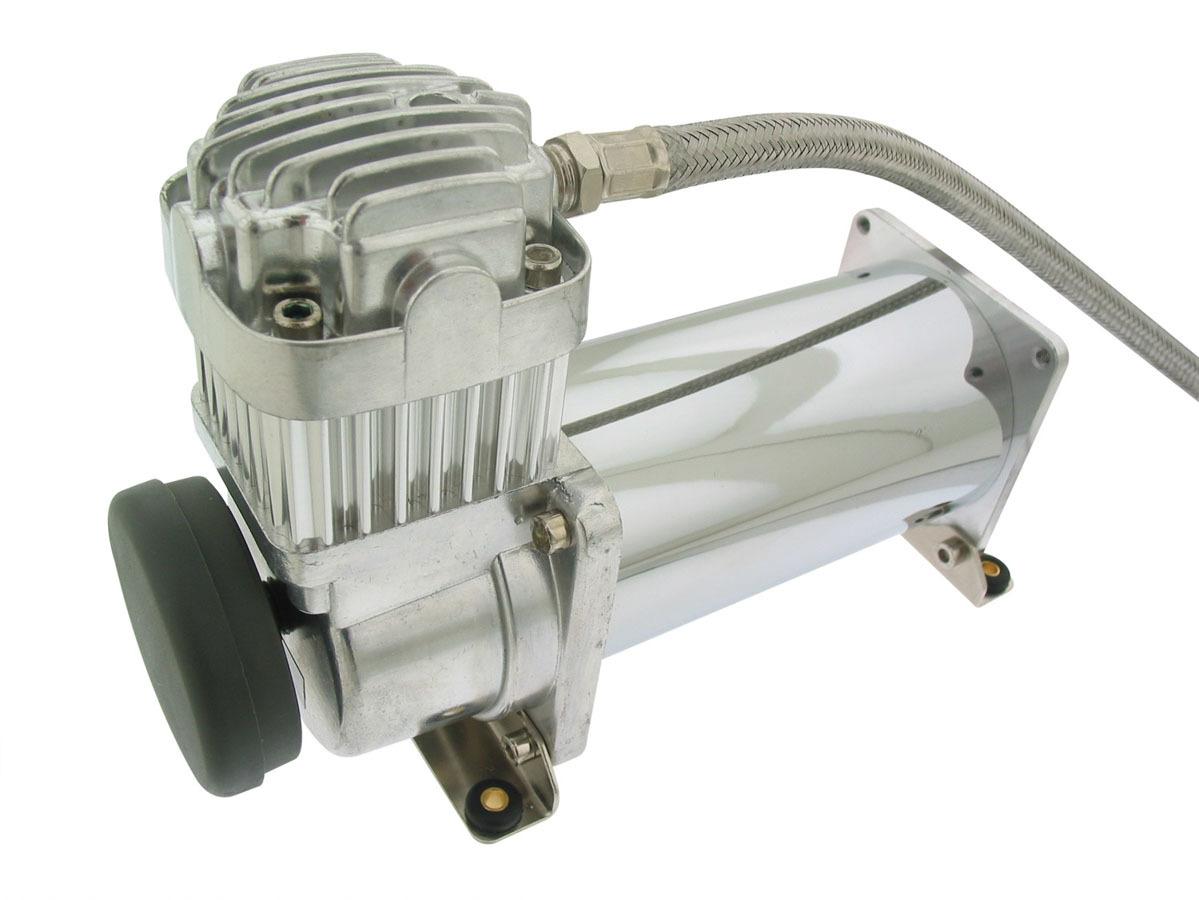 Air Lift Chrome Air Compressor 200PSI Viair 380C