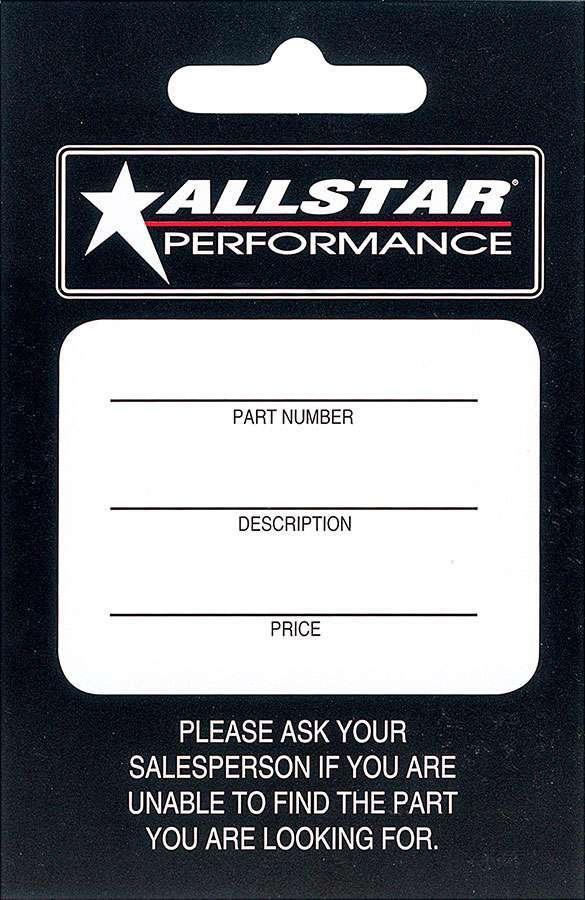 Allstar Performance Allstar Hang Tag 100 Pack