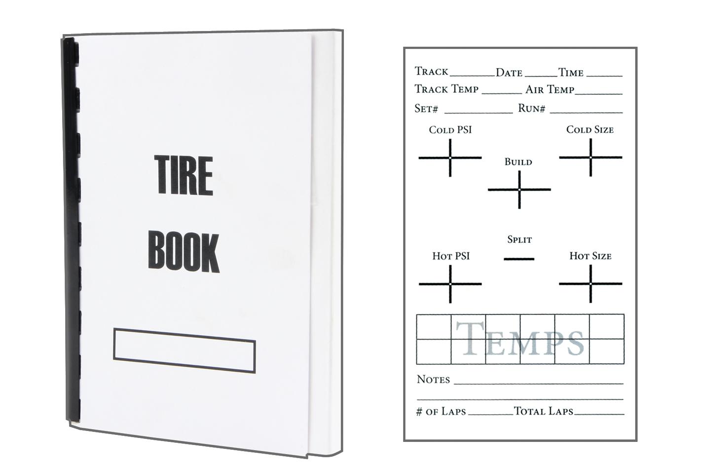 Allstar Performance Asphalt Tire Book
