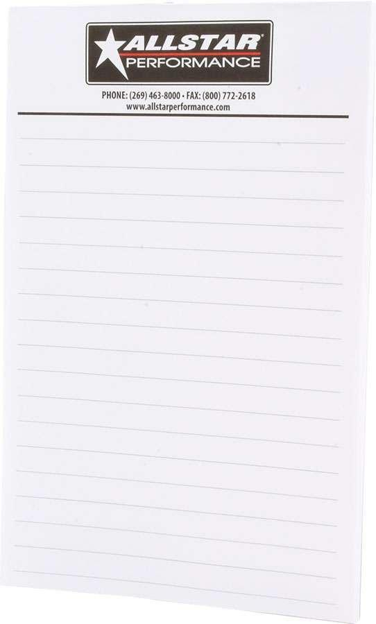 Allstar Performance Allstar Notepad 5.5x8.5